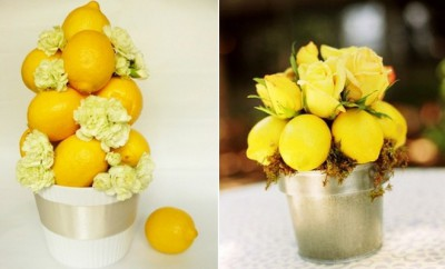 decorating-ideas-lemons-flower-arrangements-white-carnations-yellow-roses