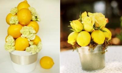 decorating-ideas-lemons-flower-arrangements-white-carnations-yellow-roses