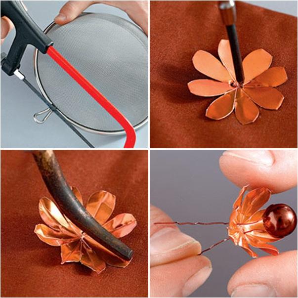 Decorative Mesh Craft Ideas