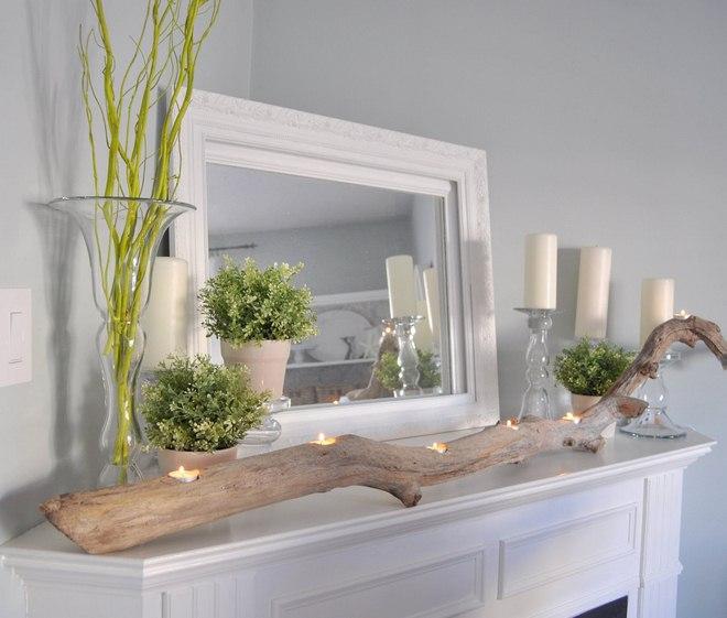 diy driftwood decor ideas for a sea inspired home decor. Black Bedroom Furniture Sets. Home Design Ideas