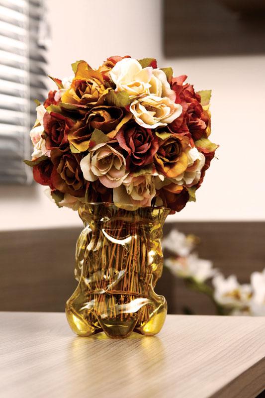 recycling plastic bottles home decor flower vase paint autmn bouquet