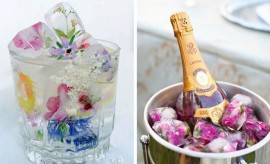 summer-decorating-ideas-ice-cubes-edible-flowers-wine-cooler