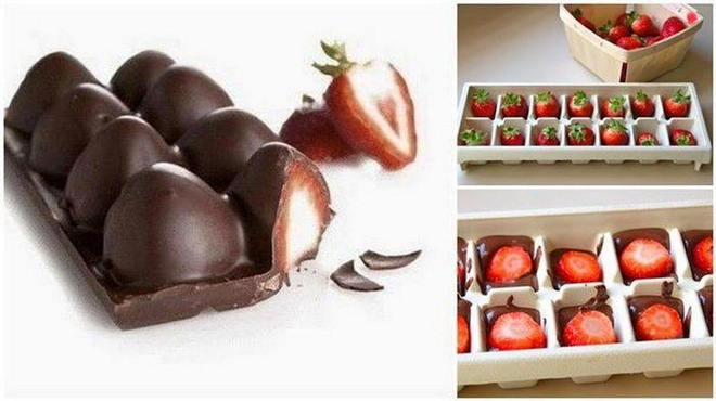 summer-decorating-ideas-ice-mold-chocolate-strawberries
