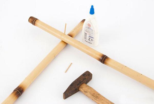 bamboo natural decor idea bolts inserts