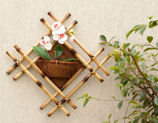 diy home diy bamboo wall decor ideas - Diy Home Wall Decor Ideas