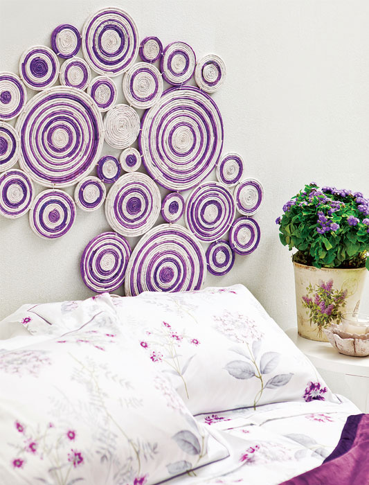 Diy Wall Art Projects Using Newspaper - Kitchen And Bedroom Wall Decor
