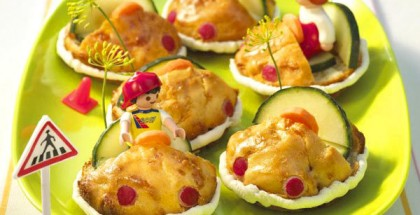fun-appetizers-snacks-kids-party-muffin-cars-cucumbers