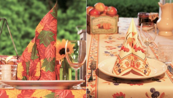 napkin-decor-ideas-fall-table-patterns-orange
