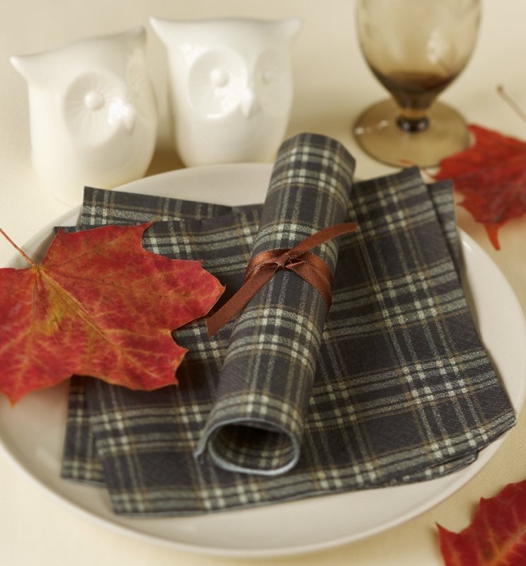 decorate your festive fall table with some fancy napkin decor ideas