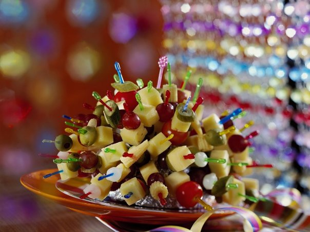 party finger food ideas cheese hedgehog table