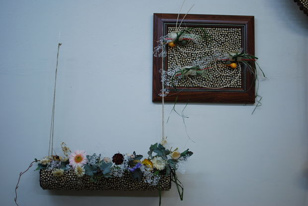diy fall decor inspiration floristic small picture wood twigs decoration