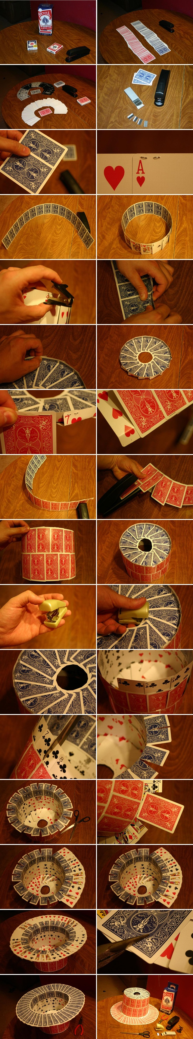 diy halloween top hat crafts kids costume play cards tutorial