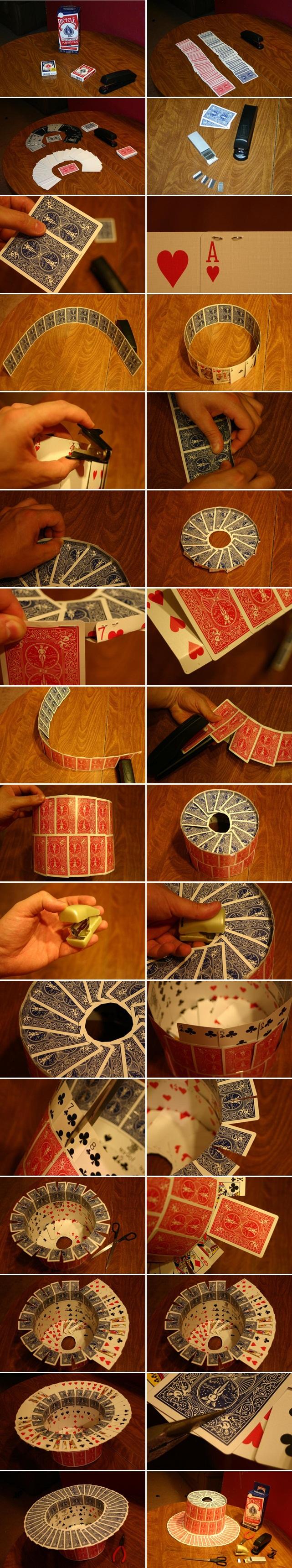 diy halloween top hat crafts kids costume play cards tutorial
