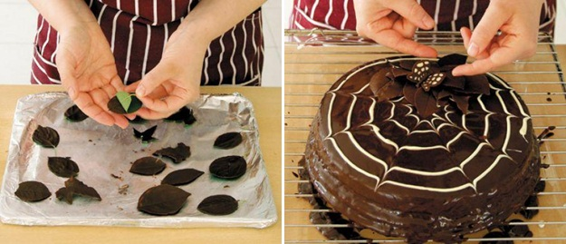 easy fall cake recipes paintbrush chocolate