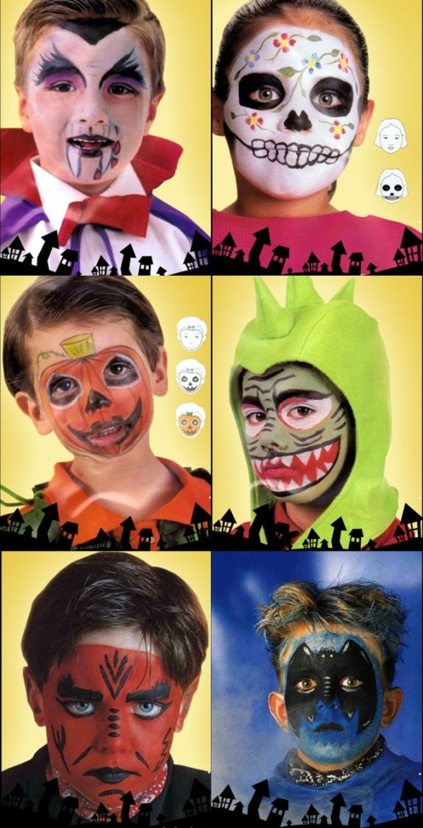 halloween makeup ideas children cute fun scary