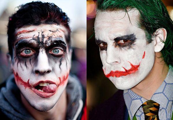 halloween makeup for men jocker scary face Halloween Makeup For Men