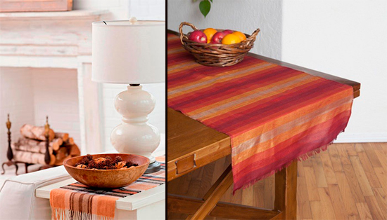 home-decorating-for-fall-ideas-table-cloth-orange-hues