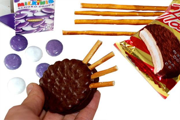 last minute halloween recipe ideas kids cookies candy salt sticks