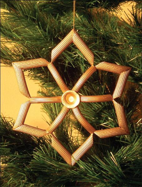 christmas crafts kids tree ornaments noodles idea
