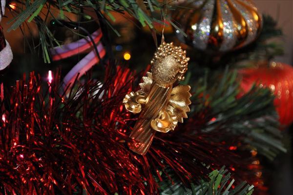 christmas crafts tree ornaments pasta angel idea