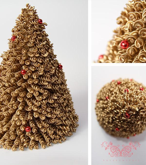 christmas tree handmade idea tabletop tree