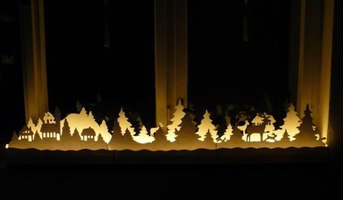 Christmas window decoration ideas and displays for 17 clear lighted star christmas window silhouette decoration