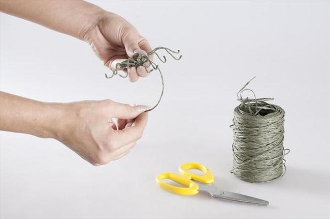 flower pumpkin centerpiece how to make spider floral wire