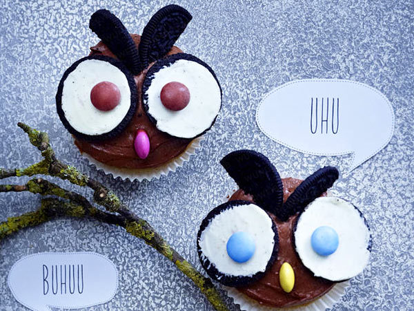 halloween cupcakes owls oreo ideas