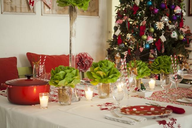 Christmas Dinner Decoration Ideas Diy : Christmas dinner table decorations and easy diy ideas