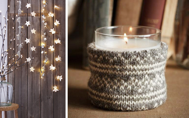 christmas-lights-stars-candle-holder-wool-wrapped
