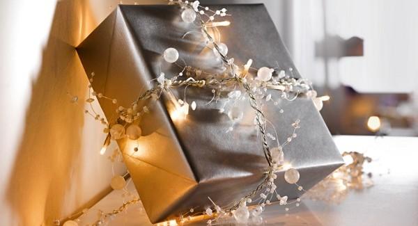 DIY Рождество подарочная упаковка идеи - ручной работы луки, подарочные пакеты и ботворезы