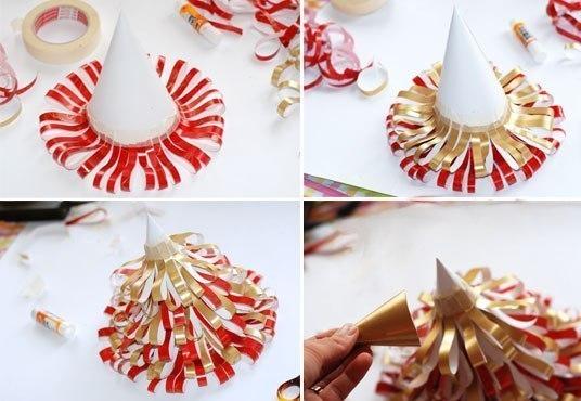 оригами на новый год снежинка схема