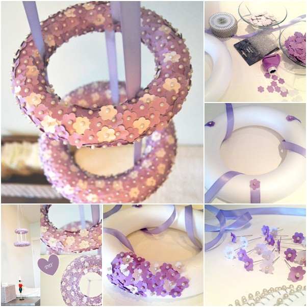 homemade christmas gift craft ideas baby room purple decoration