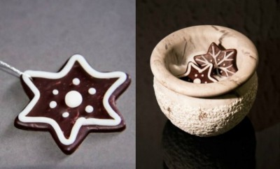 handmade-christmas-ornaments-polymer-clay-chocolate-cookies