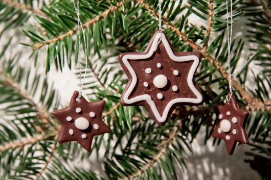 handmade-christmas-ornaments-polymer-clay-cookie-like-stars