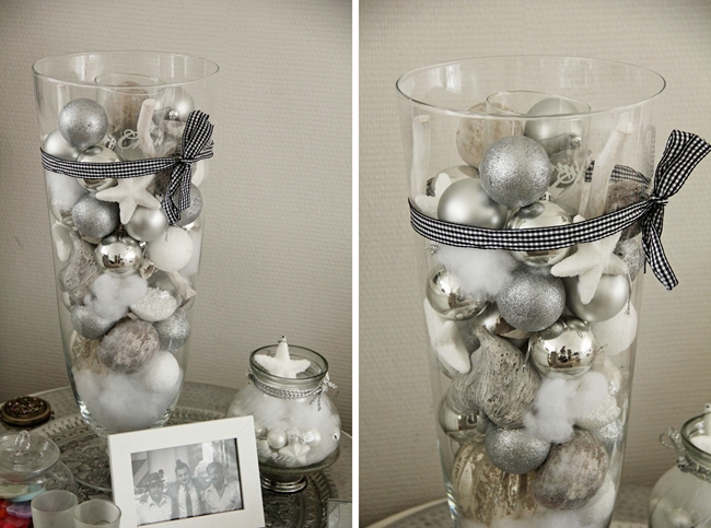 last minute diy christmas decorations - Christmas Vase Decorations