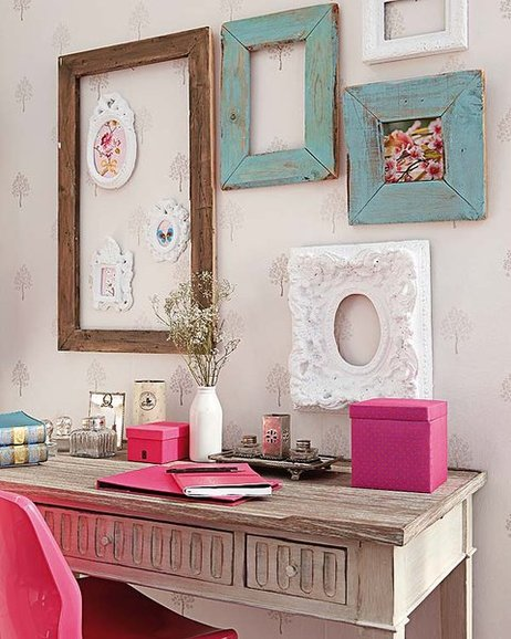 Diy Office Wall Decorating Ideas : Diy home office organization ideas how to declutter