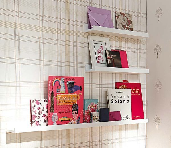 diy home office organization shelves slim wall books