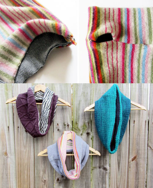 diy scarves different cloth scarps easy ideas