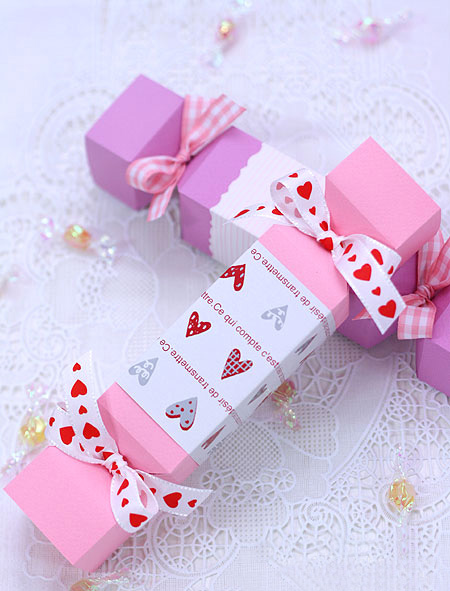 diy valentine gifts wrapping ideas bonbon ribbons hearts