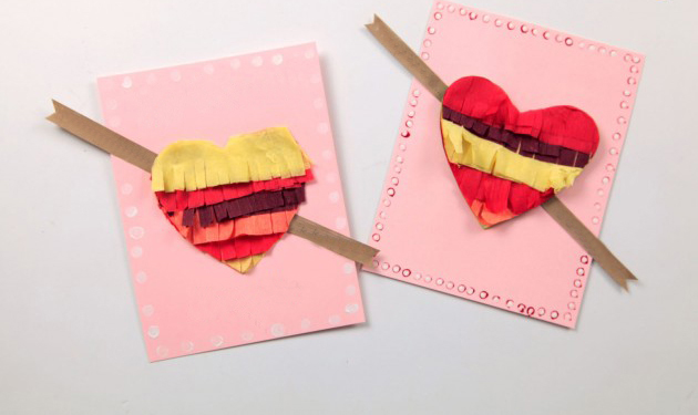 diyvalentinesdaycardstutorialkidsheartsglue – Diy Valentine Cards for Kids