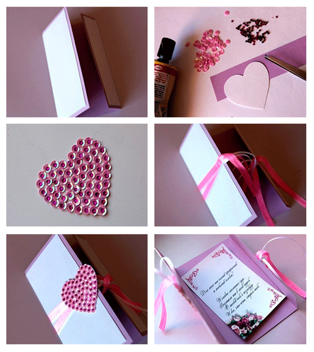 8 DIY Valentines Day Cards Tutorials for your special Valentine – Hand Made Valentine Day Cards