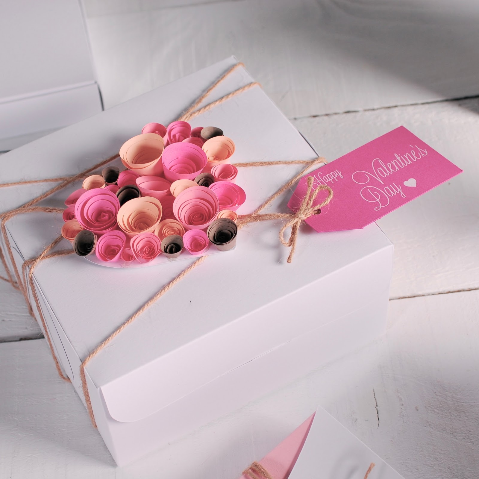 Gift Wrapping Ideas Part - 47: Gift Wrapping Ideas Box Packaging Pink Romantic Card Message