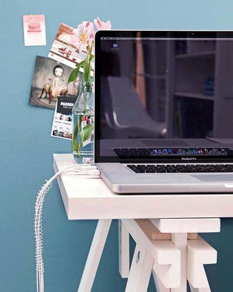 home office organization tips no twisting notebook spirals