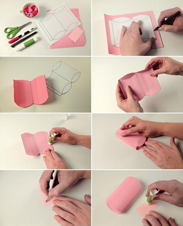 Homemade Valentine Candy Gifts Wrap Ideas Paper Tutorial