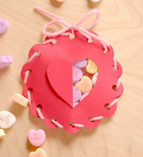 Diy valentine gift original ideas candy box paper for Cute small valentines day gifts