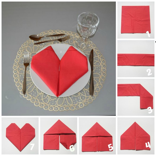 table-decoration-ideas-valentines-day-napkin-folding-hearts
