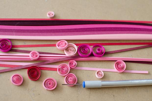 Valentine s day craft idea for kids a fun paper quilling - Paper quilling ideas for kids ...