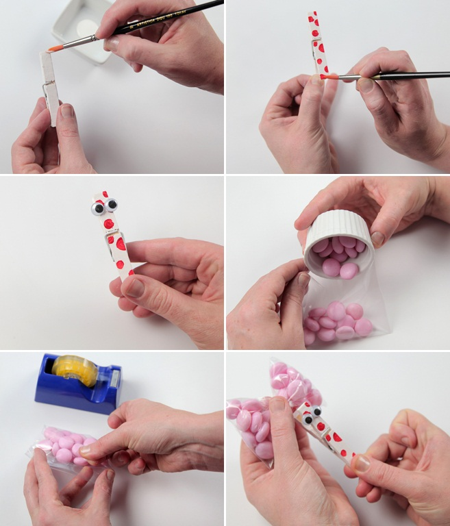 Valentine Candy Craft