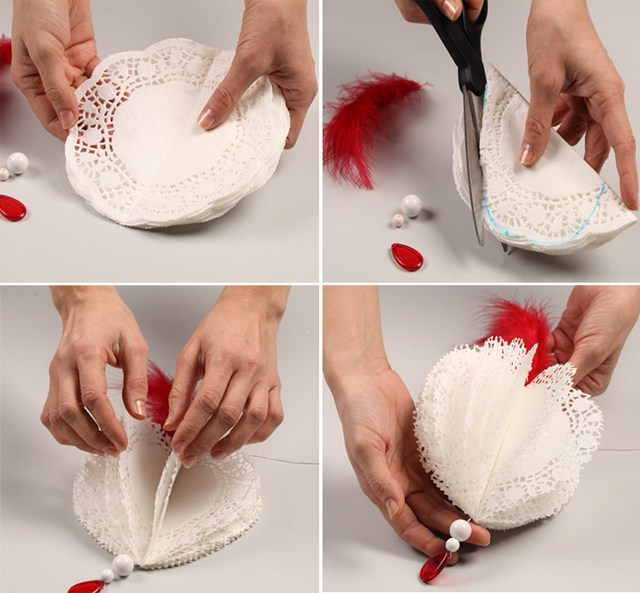 19 valentine 39 s day decorating ideas a romantic for Valentine decorations to make at home